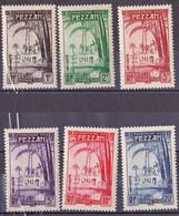 Fezzan N °6 à 11** Taxe - Fezzan (1943-1951)