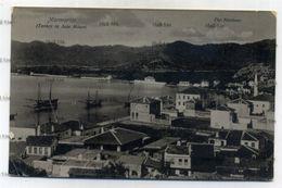Turkey Umberto Adinolfi Malta Postcard Marmarice The Harbour 1910s Postcard 09 16266 - Turchia