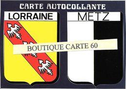 57- LORRAINE -METZ - BLASON -ECUSSON HERAIDIQUE - Frankreich