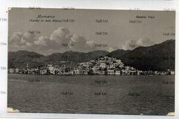 Turkey Umberto Adinolfi Malta Postcard Marmarice General View  1910s Postcard 09 9051 - Turchia