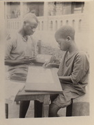 Photo Afrique Congo Alberta Ebonda Ecole Professionnelle Provenance Des Huileries Du Congo Belge Lever House - Africa