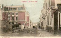 CPA - EVREUX (27) - Aspect De La Rue Victor-Hugo En 1906 - Evreux