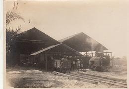 Photo Afrique Congo Alberta Arrivée D'un Train Provenance Des Huileries Du Congo Belge Lever House - Africa