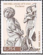 France N° 3558 ** Sculptures De Michel Ange «Esclaves» (tombeau De Jules II) - Francia