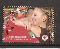 SLOVENIA 2017,RED CROSS,,MNH - Eslovenia