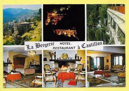 CPSM 06 CASTILLON Restaurant La Bergerie Route De Menton Sospel - Hotels & Restaurants