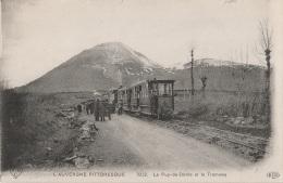 CV / 63 - PUY-DE-DOME - Le Puy-de-Dôme Et Le Tramway (impeccable) - France