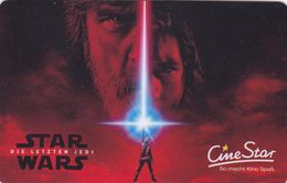 Gift Card  - - - Star Wars - - -  Germany / Allemagne - Gift Cards