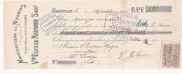 Mandat - Manufacture De Meubles, Vve Ulysse Navarre, Coarraze - 1911 - France
