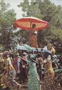 Postcard Ghana Chief Being Carried In Palanquin  My Ref B22036 - Ghana - Gold Coast