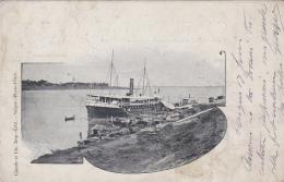 Cambodge - Phnom Penh - Indochine - Editeur Claude Et Cie Phnom Penh Saïgon - Port Bâteau - 1904 - Cambodia