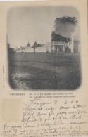 Cambodge - Phnom Penh - Façade Du Palais Du Roi - 1904 - Marcophilie Cachet Paquebot Ligne N Paq. Fr. N° 3 - Cambodge