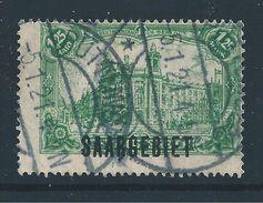 Saar MiNr. 41 Gestempelt - Verzähnt (sab09) - 1920-35 Saargebiet – Abstimmungsgebiet