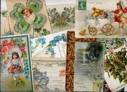 Lot 984 De 10 CPA Fantaisies Gaufrés Déstockage Pour Revendeurs Ou Collectionneurs - Ansichtskarten