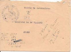 29 Et 49 Correspondance Intéressante De 1944  Quimper Pour Epiré Evacuation De 150 FFI - Documenti Storici