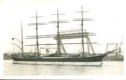 """N°59104 -cpa Le """"Pamir"""" Dans Le Port De Hamburg- - Voiliers"""