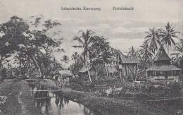 Indonésie - Indonesia - Sumatra - Fortdekock - Inlandsche Kampong - Village - Indonésie