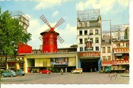 Postal Paris. Le Moulin Rouge. Ref. 7-fra245 - Francia
