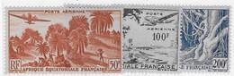 ⭐ AEF - Poste Aérienne - YT N° 50 à 52 ** - Neuf Sans Charnière - 1947 / 1952 ⭐ - Nuovi