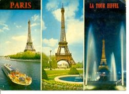 Postal Paris. La Tour Eiffel. Ref. 7-fra255 - Francia