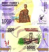 MADAGASCAR - 1000 ARIARY 2017 - NEW - Neuf (UNC) - Madagascar