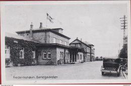 Denemarken Denmark Danmark Frederikshavn Banegaarden 1946 Oldtimer - Danemark