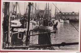 Denemarken Denmark Danmark Esbjerg Fra Fiskerihavnen Vissershaven Stenders Forlag Eneret Nr. 9 Fishing Port De Pêche - Danemark
