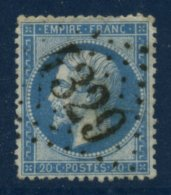 VIENNE: 20c Empire Dentelé Y&Tellier N°22  Oblt Losange GC 4329  De VOUNEUIL S VIENNE TTB - Marcophilie (Timbres Détachés)