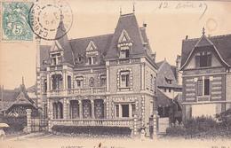 14. CABOURG . CPA. LA VILLA MAXIME. ANNÉE 1907. - Cabourg