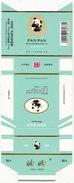 Panda - Giant Panda, PAN PAN Cigarette Box, Hard, Cyan, Guangshui Cigarette Factory, Hubei, China - A2 - Etuis à Cigarettes Vides
