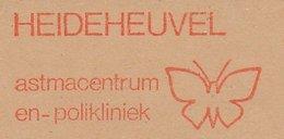 Meter Cut Netherlands 1983 Butterfly - Asthma Center - Unclassified