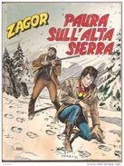 ZAGOR  N. 401   PAURA SULL'ALTA SIERRA - Zagor Zenith