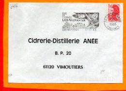 YVELINES, Les Mureaux, Flamme SCOTEM N° 6977 - Marcophilie (Lettres)