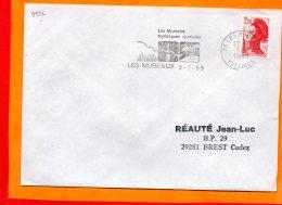 YVELINES, Les Mureaux, Flamme SCOTEM N° 9932 - Marcophilie (Lettres)