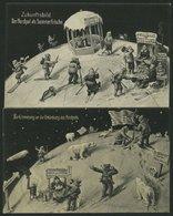 ALTE POSTKARTEN - VARIA NORDPOL, Zur Erinnerung An Die Entdeckung Des Nordpol Und Zukunftsbild Der Nordpol Als Sommerfri - Postcards