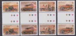 Falkland Islands 1988 Early Vehicles 4v Gutter ** Mnh (37134) - Falklandeilanden