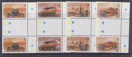 Falkland Islands 1988 Early Vehicles 4v Gutter  (+margin) ** Mnh (37134A) - Falkland Islands