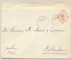 Nederlands Indië - 1927 - 12,5 Cent Wilhelmina, Envelop G47 Van Garoet Naar Rotterdam / Nederland - Niederländisch-Indien