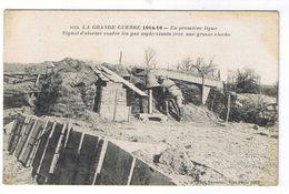 VERDUN ?? SIGNAL D ALARME CONTRE LES GAZ ASPHYXIANTS - Verdun