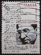 ITALIA 2008 The 100th Anniversary Of The Birth Of Cesare Pavese. USADO - USED. - 6. 1946-.. Repubblica