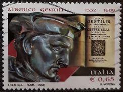 ITALIA 2008 The 400th Anniversary Of The Birth Of Alberico Gentili. USADO - USED. - 6. 1946-.. Repubblica