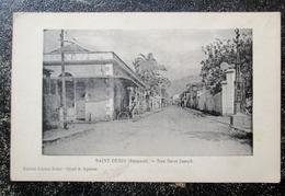 Reunion Saint Denis Rue Saint Joseph  Cpa Ile Reunion - Saint Denis
