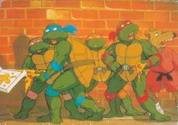 LAS TORTUGAS NINJA/MUTANT TEENAGE NINJA TURTLES - CIRCA 1990s - BLEUP - Postkaarten