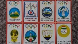 CPSM SOUVENIR DE L OLYMPIE JO ATHENES 1896 PARIS 1900 ST LOUIS 1904 LONDRES 1908 STOCKHOLM 1912 ANVERS 1920 AMSTERDAM 28 - Juegos Olímpicos
