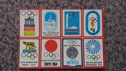 CPSM SOUVENIR DE L OLYMPIE JO BERLIN 1936 LONDRES 48 HELSINKI 52 MELBOURNE 56 ROME 1960 TOCKYO 64 MEXICO 68 MUNICH 72 - Juegos Olímpicos