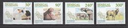 Senegal 1997,4V In Set, Birds,vogels,vögel,oiseaux,hippo,elephant,olifant,eland,MNH/Postfris(A3440) - Vogels