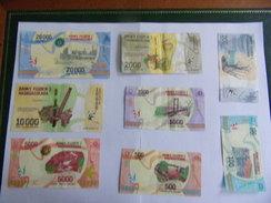 Collection Des Nouveaux Billets De Madagascar - Madagascar