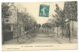 CPA HOUILLES, AVENUE DE LA REPUBLIQUE, YVELINES 78 - Houilles