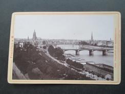 Foto 1894 Frankfurt Am Main 506 Frankfurt Und Sachsenhausen. Verlag V. Römmler & Jonas Hof Photogr. Dresden - Fotos