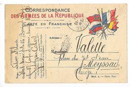Correspondance Des Armées De La République - Mr VALETTE à MEYSSAC (19 ) - Autres